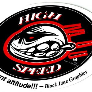 Highspeed-Decal