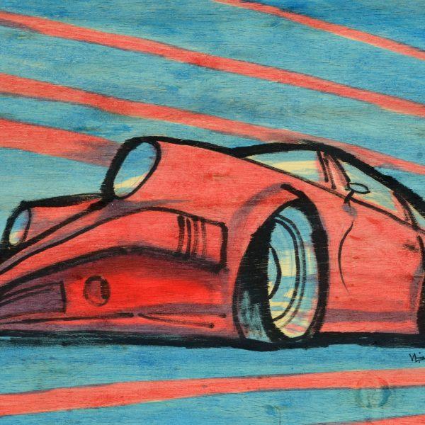 Porsche-911-Art